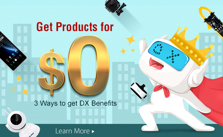 get dx products for 0 usd now