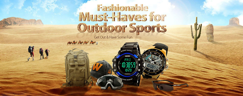 must have outdoor equipment