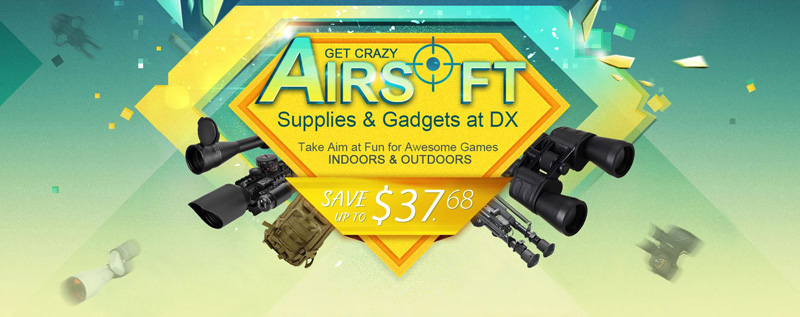 get crazy airsoft supplies and gadgets