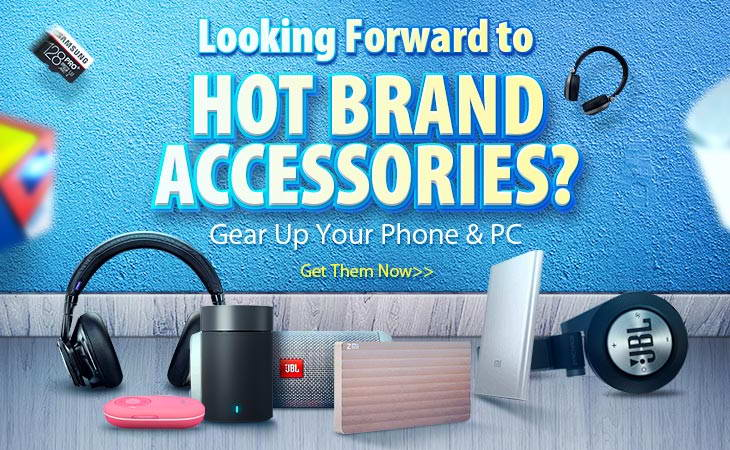 hot brand accessories for your PC or smartphone tablet