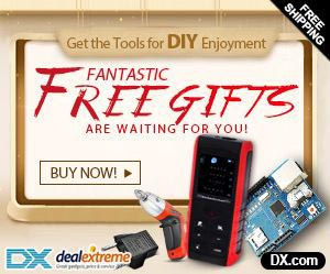 Fantastic Free Gifts Are Waiting For You at DX.com