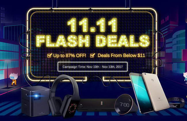 DX Flash Sale 11.11