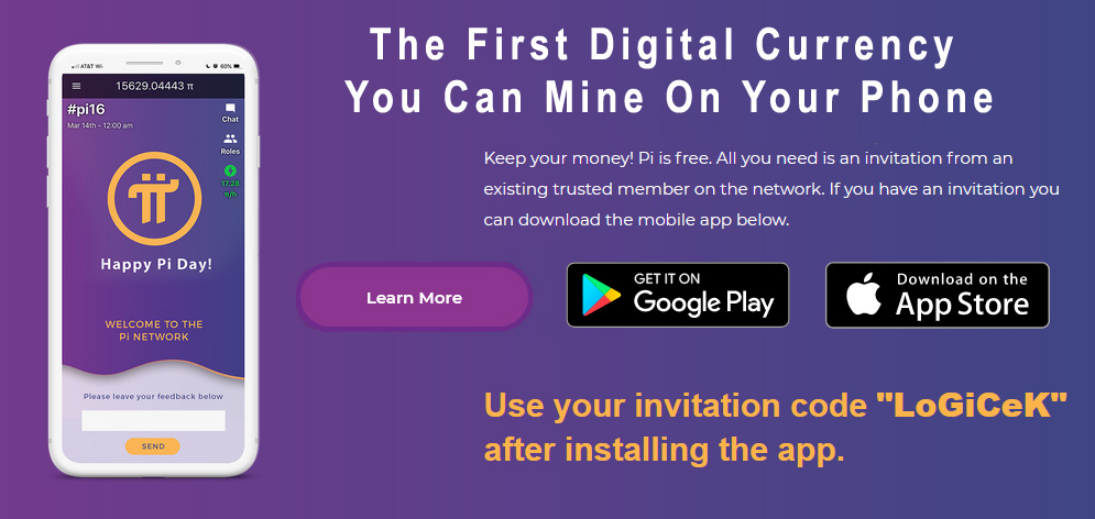 Pi Network - First Digital Currency You Can Mine On Your Phone - Invitation Code